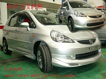 Honda Jazz Pu Body Kit