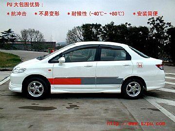 Honda Fit Saloon Pu Bodykit
